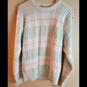 Christian DIOR Cable Knit Pullover Sweater